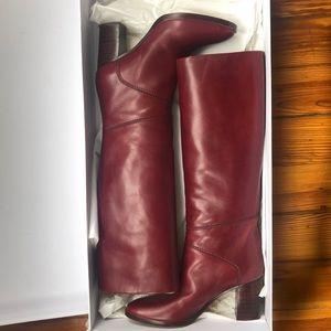 Chloe Burgundy Boots